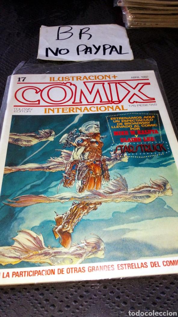 ILUSTRACIÓN COMIX INTERNACIONAL TOUTAIN EDITOR NÚMERO 17 (Tebeos y Comics - Toutain - Comix Internacional)