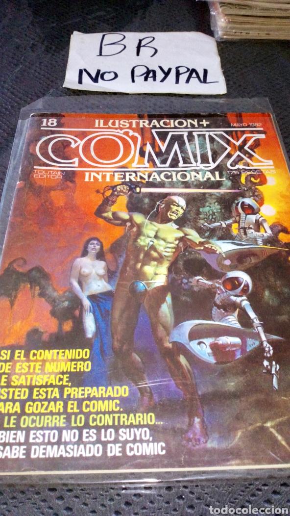 ILUSTRACIÓN COMIX INTERNACIONAL TOUTAIN EDITOR NÚMERO 18 (Tebeos y Comics - Toutain - Comix Internacional)