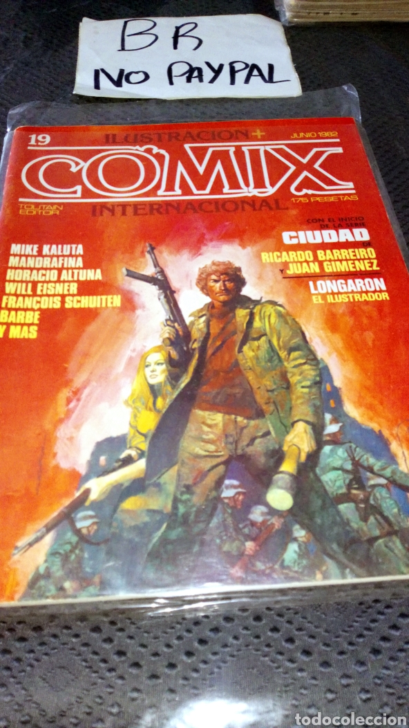ILUSTRACIÓN COMIX INTERNACIONAL TOUTAIN EDITOR NÚMERO 19 (Tebeos y Comics - Toutain - Comix Internacional)