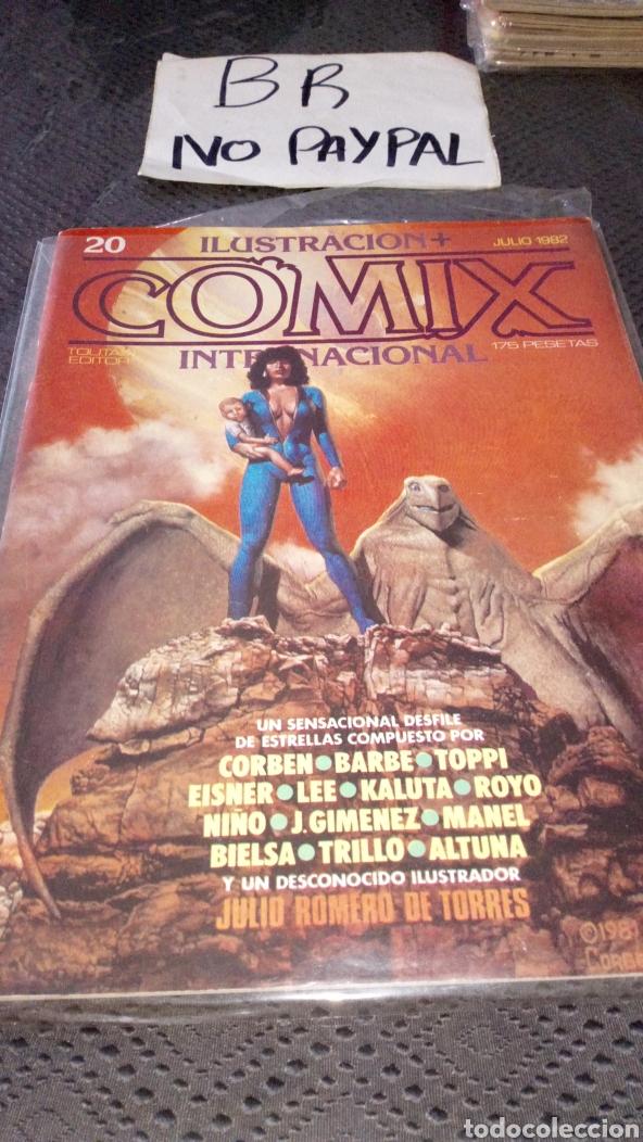 ILUSTRACIÓN COMIX INTERNACIONAL TOUTAIN EDITOR NÚMERO 20 (Tebeos y Comics - Toutain - Comix Internacional)