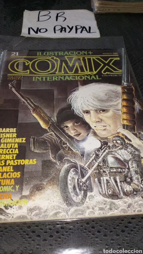 ILUSTRACIÓN COMIX INTERNACIONAL TOUTAIN EDITOR NÚMERO 21 (Tebeos y Comics - Toutain - Comix Internacional)