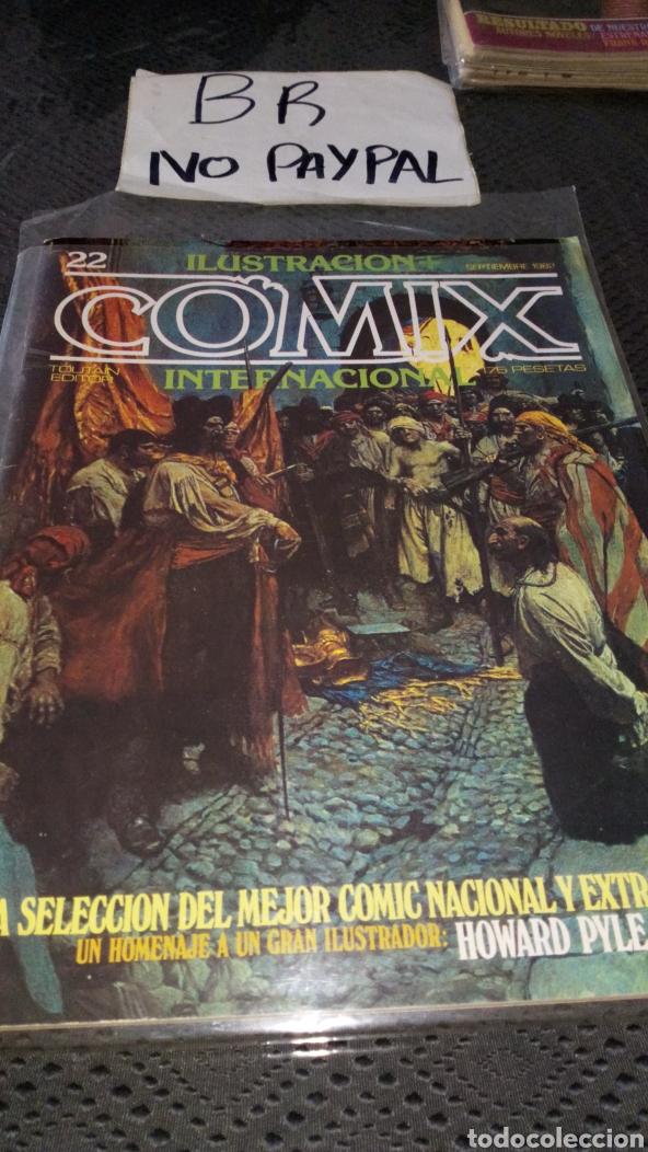 ILUSTRACIÓN COMIX INTERNACIONAL TOUTAIN EDITOR NÚMERO 22 (Tebeos y Comics - Toutain - Comix Internacional)