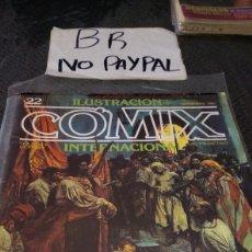 Cómics: ILUSTRACIÓN COMIX INTERNACIONAL TOUTAIN EDITOR NÚMERO 22. Lote 287660468