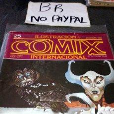 Cómics: ILUSTRACIÓN COMIX INTERNACIONAL TOUTAIN EDITOR NÚMERO 25. Lote 287660603