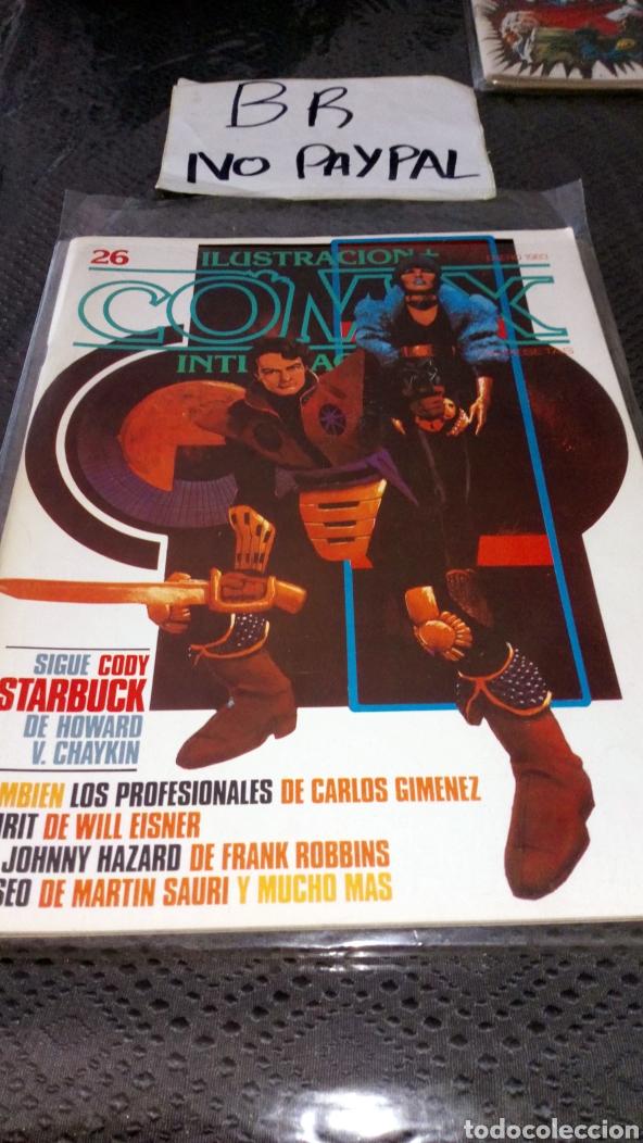 ILUSTRACIÓN COMIX INTERNACIONAL TOUTAIN EDITOR NÚMERO 26 (Tebeos y Comics - Toutain - Comix Internacional)
