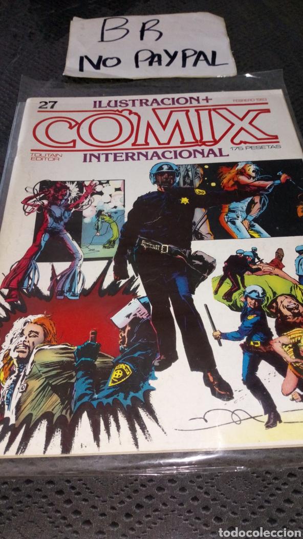 ILUSTRACIÓN COMIX INTERNACIONAL TOUTAIN EDITOR NÚMERO 27 (Tebeos y Comics - Toutain - Comix Internacional)