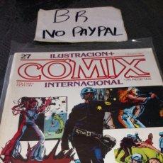 Cómics: ILUSTRACIÓN COMIX INTERNACIONAL TOUTAIN EDITOR NÚMERO 27. Lote 287660793