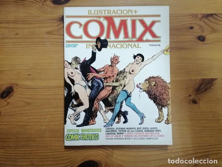 COMIX INTERNACIONAL - ESPECIAL CÓMIC ERÓTICO RETAPADO NÚMEROS 57,58 Y 59 (Tebeos y Comics - Toutain - Comix Internacional)