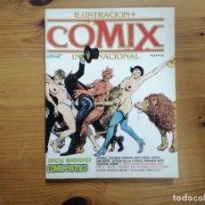 Cómics: COMIX INTERNACIONAL - ESPECIAL CÓMIC ERÓTICO RETAPADO NÚMEROS 57,58 Y 59. Lote 287844538