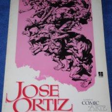 Comics: JOSÉ ORTIZ - CUANDO EL COMIC ES ARTE Nº 2 - TOUTAIN (1977). Lote 287849023