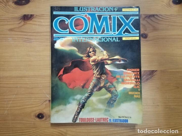 COMIX INTERNACIONAL - RETAPADO EXTRA 11 (Tebeos y Comics - Toutain - Comix Internacional)