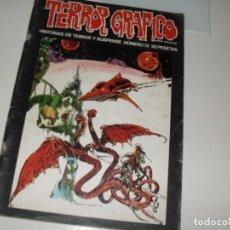 Cómics: TERROR GRAFICO 13.EDICIONES URSUS,AÑO 1973.. Lote 287912963