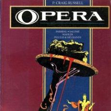 Cómics: OPERA (TOUTAIN, 1990) DE P. CRAIG RUSSELL. 140 PGS. PARSIFAL, SALOMÉ, MAHLER, ETC. Lote 288164313