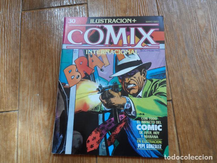 ILUSTRACION + COMIX INTERNACIONAL Nº 30 EDITORIAL TOUTAIN (Tebeos y Comics - Toutain - Comix Internacional)