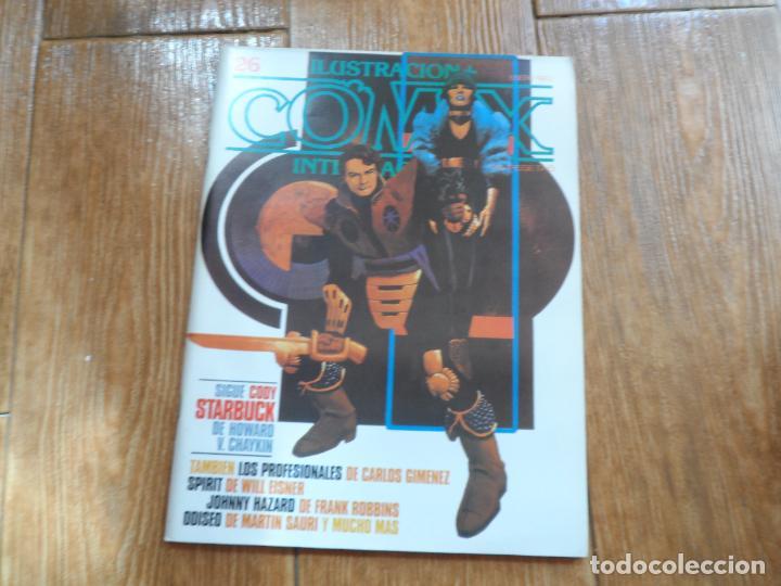 ILUSTRACION + COMIX INTERNACIONAL Nº 26 EDITORIAL TOUTAIN (Tebeos y Comics - Toutain - Comix Internacional)