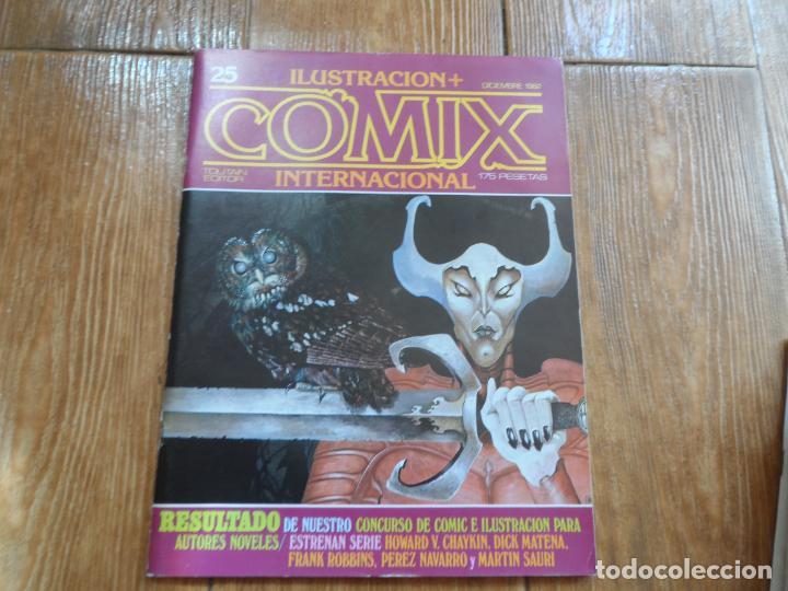 ILUSTRACION + COMIX INTERNACIONAL Nº 25 EDITORIAL TOUTAIN (Tebeos y Comics - Toutain - Comix Internacional)