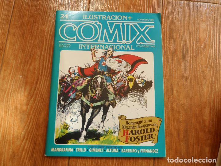 ILUSTRACION + COMIX INTERNACIONAL Nº 24 EDITORIAL TOUTAIN (Tebeos y Comics - Toutain - Comix Internacional)