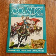 Cómics: ILUSTRACION + COMIX INTERNACIONAL Nº 24 EDITORIAL TOUTAIN. Lote 288185188
