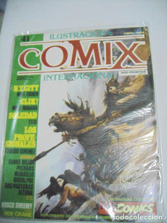 Cómics: COMIX ILUSTRACIÓN INTERNACIONAL Nº 26,27,30,31, 40, 41 y 43 - ED. TOUTAIN - Foto 2 - 288218258