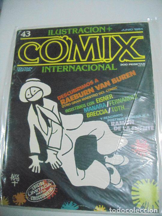 Cómics: COMIX ILUSTRACIÓN INTERNACIONAL Nº 26,27,30,31, 40, 41 y 43 - ED. TOUTAIN - Foto 3 - 288218258