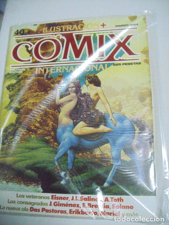 Cómics: COMIX ILUSTRACIÓN INTERNACIONAL Nº 26,27,30,31, 40, 41 y 43 - ED. TOUTAIN - Foto 4 - 288218258