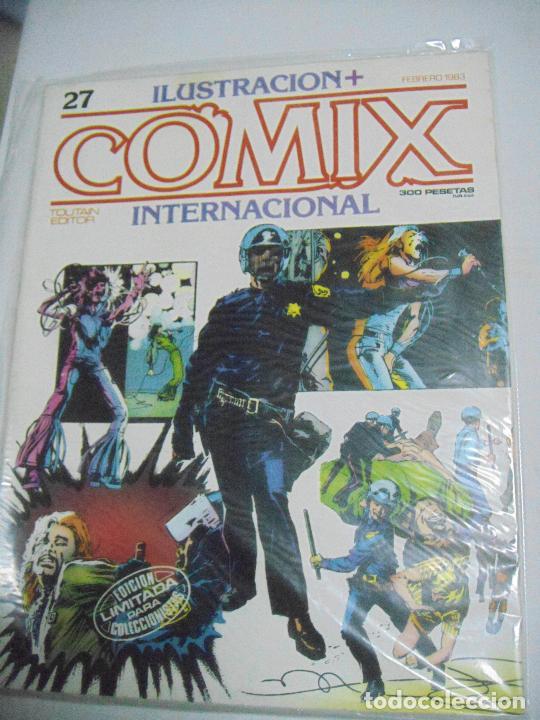 Cómics: COMIX ILUSTRACIÓN INTERNACIONAL Nº 26,27,30,31, 40, 41 y 43 - ED. TOUTAIN - Foto 5 - 288218258