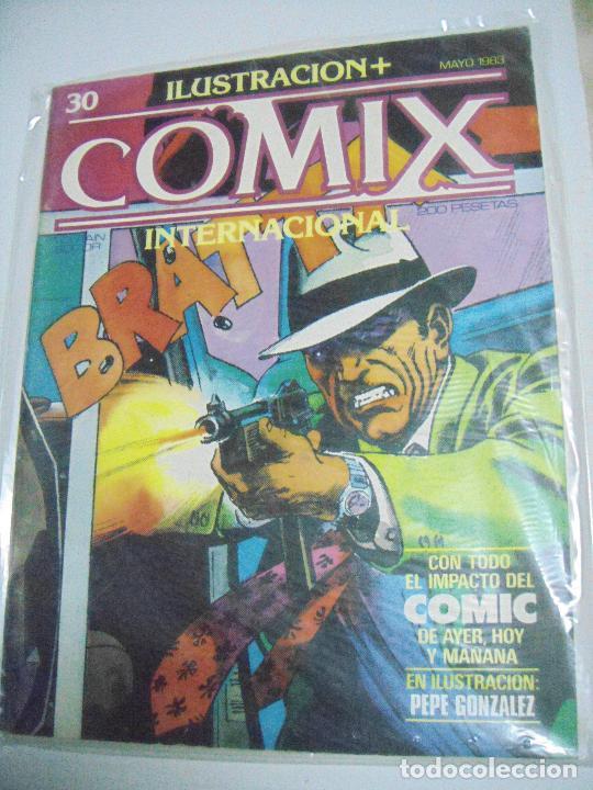 Cómics: COMIX ILUSTRACIÓN INTERNACIONAL Nº 26,27,30,31, 40, 41 y 43 - ED. TOUTAIN - Foto 6 - 288218258