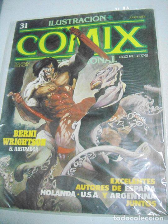 Cómics: COMIX ILUSTRACIÓN INTERNACIONAL Nº 26,27,30,31, 40, 41 y 43 - ED. TOUTAIN - Foto 7 - 288218258