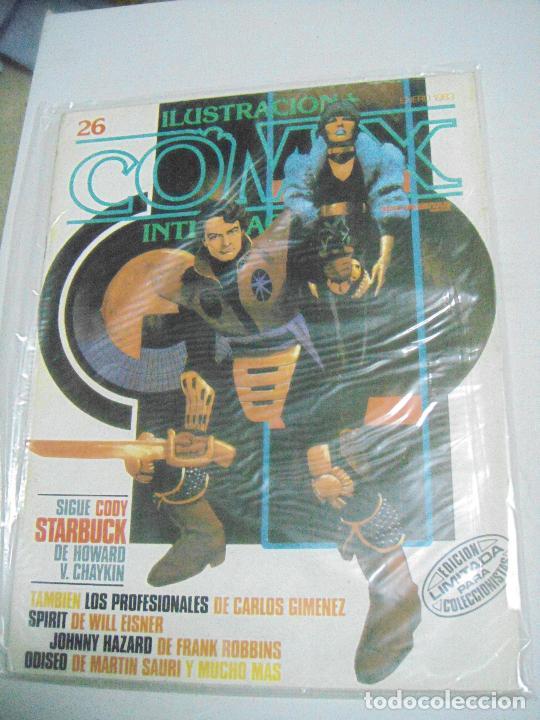 COMIX ILUSTRACIÓN INTERNACIONAL Nº 26,27,30,31, 40, 41 Y 43 - ED. TOUTAIN (Tebeos y Comics - Toutain - Comix Internacional)