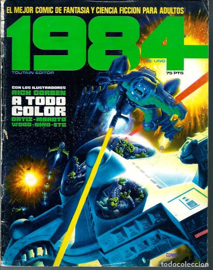 1984 Nº 1 - TOUTAIN EDITOR 1978 1ª EDICION 75 PTS (Tebeos y Comics - Toutain - 1984)