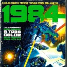 Cómics: 1984 Nº 1 - TOUTAIN EDITOR 1978 1ª EDICION 75 PTS. Lote 288364003