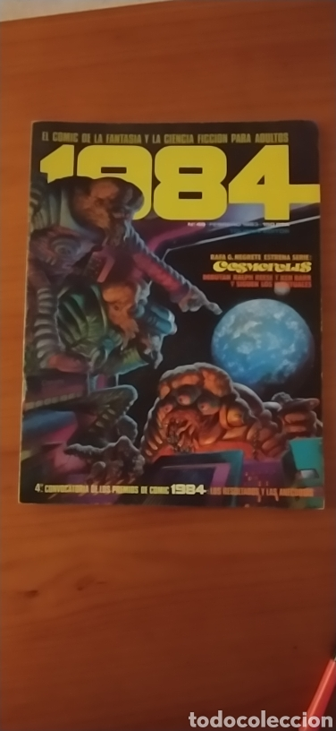 CÓMIC 1984 NÚMERO 49 (Tebeos y Comics - Toutain - 1984)