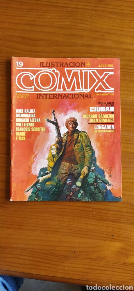 COMIX INTERNACIONAL NÚMERO 19 (Tebeos y Comics - Toutain - Comix Internacional)