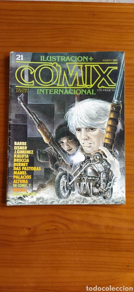 COMIX INTERNACIONAL NÚMERO 21 (Tebeos y Comics - Toutain - Comix Internacional)
