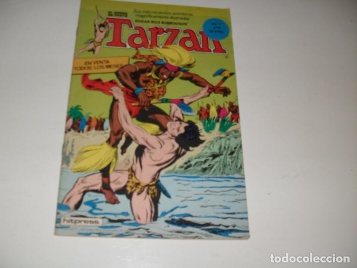 TARZAN 12.EDITA HITPRESS,AÑO 1980. (Tebeos y Comics - Toutain - Otros)