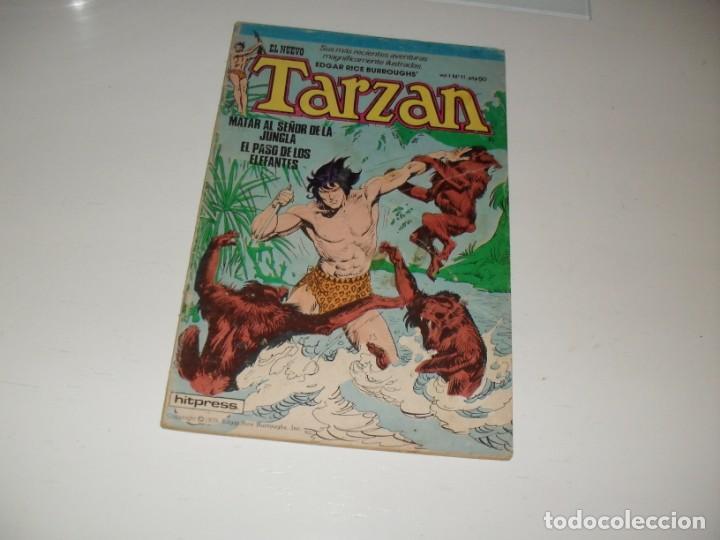 TARZAN 11.EDITA HITPRESS,AÑO 1980. (Tebeos y Comics - Toutain - Otros)