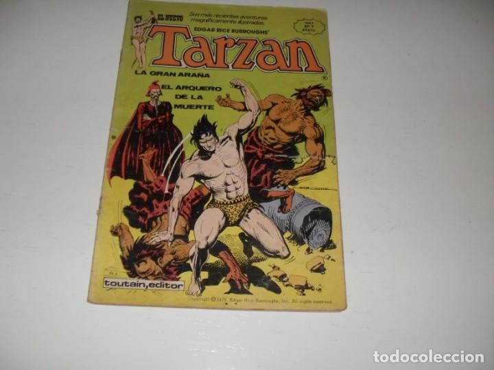 TARZAN 7.EDITA HITPRESS,AÑO 1980. (Tebeos y Comics - Toutain - Otros)