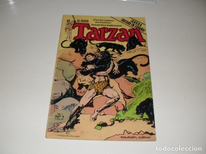 TARZAN 1,EL PRIMERO.EDITA HITPRESS,AÑO 1980. (Tebeos y Comics - Toutain - Otros)