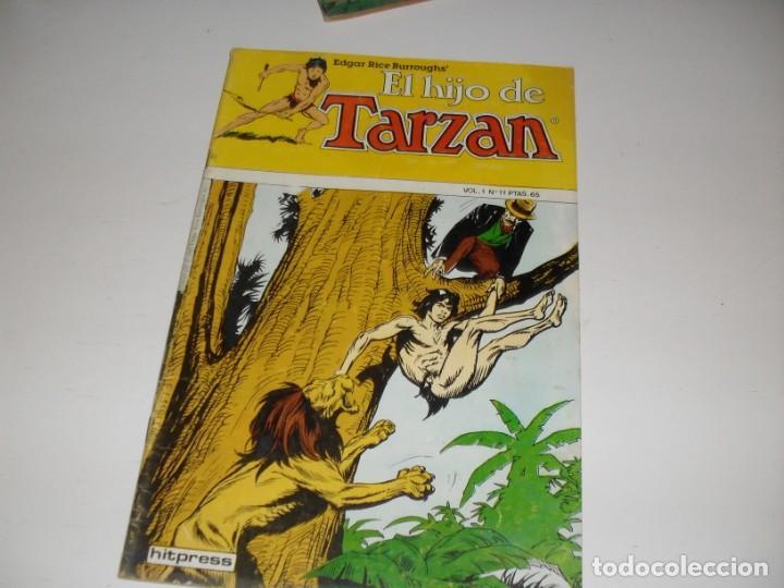 EL HIJO DE TARZAN 11.EDITA HITPRESS,AÑO 1980. (Tebeos y Comics - Toutain - Otros)