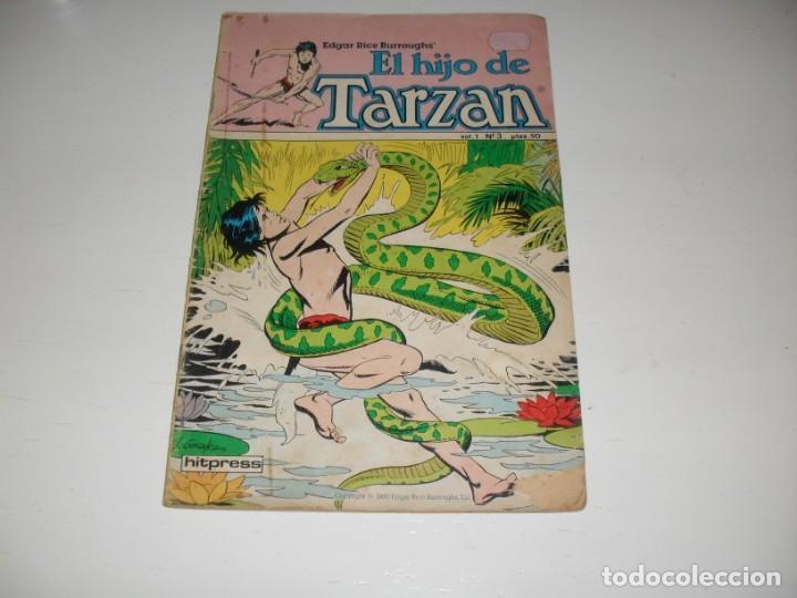 EL HIJO DE TARZAN 3.EDITA HITPRESS,AÑO 1980. (Tebeos y Comics - Toutain - Otros)