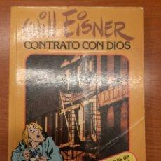 Cómics: CONTRATO CON DIOS WILL EISNER. Lote 288860193