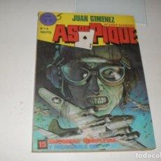Cómics: AS DE PIQUE,RETAPADO 1,GRAPAS 1 AL 5.TOUTAIN EDITOR,AÑO 1988. Lote 288860483