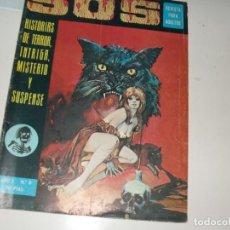 Cómics: SOS 6.EDITORIAL VALENCIANA,AÑO 1975.. Lote 288872298