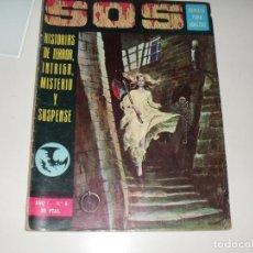 Cómics: SOS 4.EDITORIAL VALENCIANA,AÑO 1975.. Lote 288874263