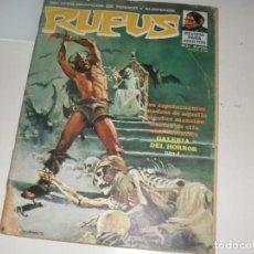Cómics: RUFUS 21.EDITORIAL GARBO,AÑO 1973.. Lote 288883443