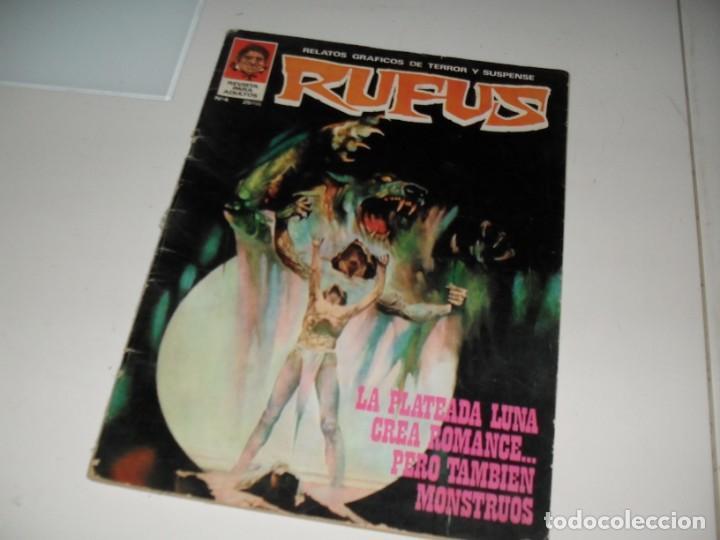 RUFUS 4.EDITORIAL GARBO,AÑO 1973. (Tebeos y Comics - Toutain - Creepy)