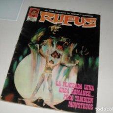 Cómics: RUFUS 4.EDITORIAL GARBO,AÑO 1973.. Lote 288884213