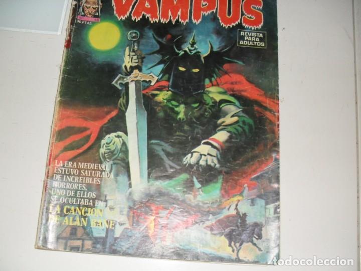 VAMPUS 46.EDICIONES IMDE,AÑO 1971. (Tebeos y Comics - Toutain - Creepy)
