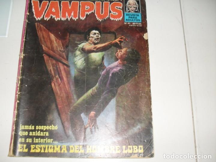VAMPUS 41.EDICIONES IMDE,AÑO 1971. (Tebeos y Comics - Toutain - Creepy)