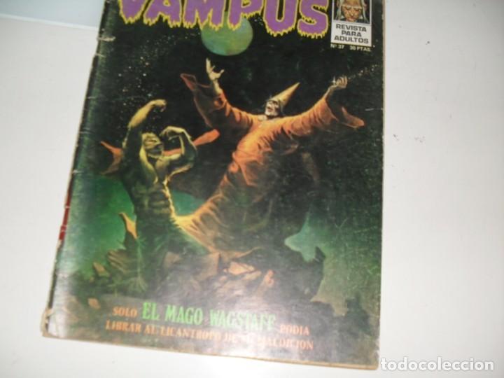 VAMPUS 37.EDICIONES IMDE,AÑO 1971. (Tebeos y Comics - Toutain - Creepy)